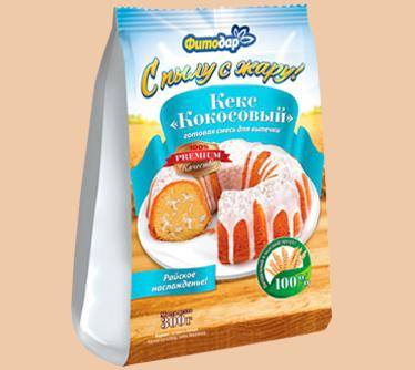 Кекс Кокосовый