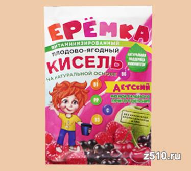 Кисель Ерёмка Плодово-ягодный