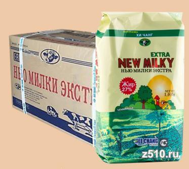 Молоко сухое «Нью Милки Экстра» коробками